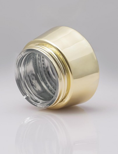Metallization-Metallized-glass-small-jars-with-water-based-varnish