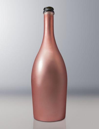 Verniciatura-bottiglia-vetro-metallizzata-e-verniciato-soft-touch